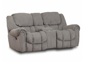 Granite Reclining Loveseat w/console