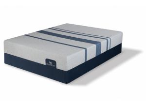 King iComfort Blue 100 Gentle Firm set  (Mattress & 2 Boxsprings)