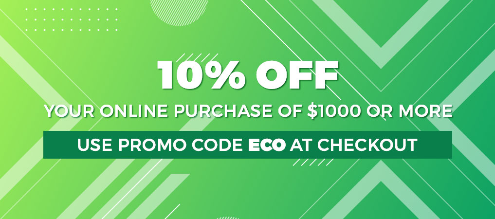 10% Off with Promo Code ECO