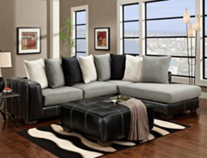 6350-Idol Steel-Sectional,Affordable