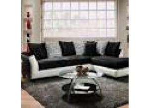 Black And White Sectional