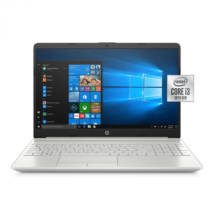 Hp 15 6 Hd Laptop 10th Gen Intel Core I3 4gb Memory 256 Gb Solid State Drive Backlit Keyboard With Numeric Keypad Feel At Home