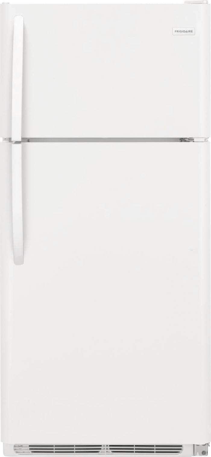 Frigidaire 18-cu ft Top-Freezer Refrigerator (White),InStore Products