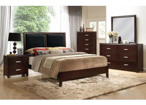 Lexington Espresso Queen 5 PC set (dreser,mirror,nightstand,chest)
