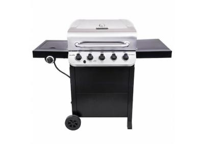 Image for Char-Broil Performance Black and Stainless 5-Burner Liquid Propane Gas Grill with 1 Side Burner