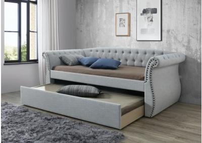 Arabella Gray Daybed with Trundle