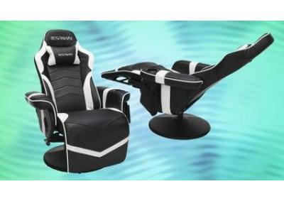 Image for Respawn-900 Racing Style Reclining Gaming Chair (white)