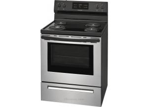 Frigidaire 5.3-cu ft Self-Cleaning Freestanding Electric Range (Stainless Steel)