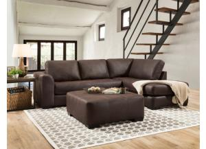 Brandy Brown Sectional