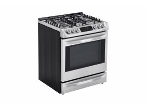 LG Smartthinq Deep Recessed 5-Burner Self-Cleaning Convection (Stainless Steel)