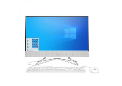 "HP - 23.8"" All-in-One Desktop - AMD Ryzen 3 3250U Processor - 8GB Memory - 1TB Hard Drive - USB White Wired Keyboard and Mouse Combo - HP Privacy Came"