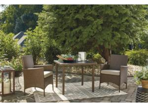 Image for Reedenhurst 3-piece dining table set