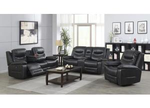Georgetown Gray Power Motion with adjustable headrest 3 PC Living Room Set