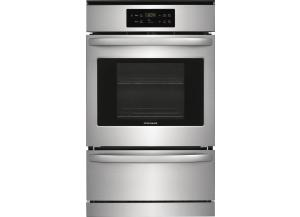Image for Frigidaire 24-in Self-Cleaning Single Gas Wall Oven (Stainless Steel)