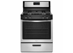 Image for Whirlpool 5.1-cu ft Freestanding Gas Range (Stainless Steel)