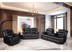 Image for Shadow 3pc reclining living room set