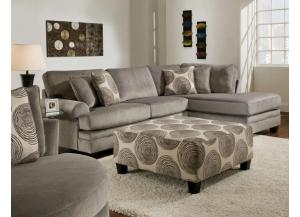 Ventura Sectional with Ottoman Set