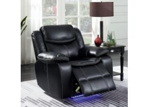 Panther Black Power Assist Recliner