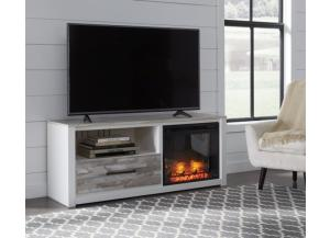 Evanni 59-inch TV stand with electric fireplace unit