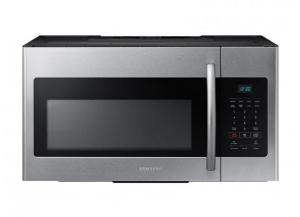 Samsung 1.6-cu ft Over-the-Range Microwave (Fingerprint-Resistant Fingerprint-resistant Stainless Steel)