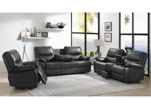 Steel Gray Power Assist 3PC Living Room Set