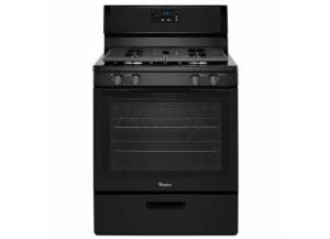 Image for Whirlpool 5.1-cu ft Freestanding Gas Range (Black)