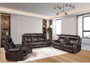 Image for Diamond Brown Power 3pc living room set