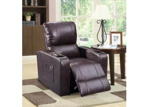 Amli Brown Power Recliner