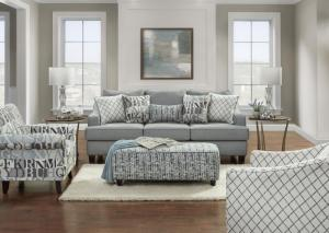 Image for Gray Sofa and Loveseat