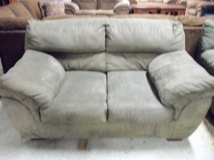 Ashley Durapella Olive Love Seat 001151 WAS: $369.99,Ashley
