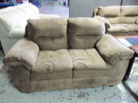 Image for Ashley Durapella Sable Love Seat 001550 WAS: $469.99