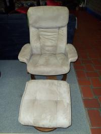Image for Mac Motion Mocha Recliner and Ottoman 001545 WAS: $469.99
