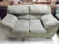 Image for Ashley Durapella Olive Love Seat 001151 WAS: $369.99