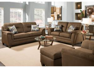 Victory Lane Mink Sofa & Love Collection