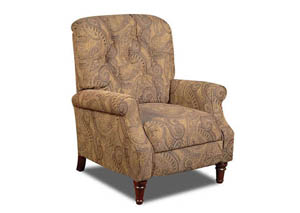 Tobacco Isle Push Back Recliner