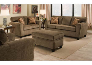 Cornell Cocoa Sofa & Loveseat Collection