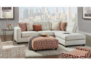 Persistant Ivory Sectional