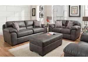 Sante Fe Grey Sofa & Loveseat Collection