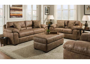 Sante Fe Silt Sofa & Loveseat Collection