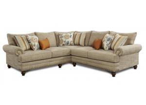 Botego Oatmeal Sectional