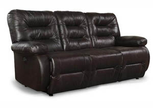 Maddox Leather Reclining Sofa