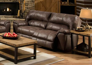 Stallion Saddle Reclining Sofa