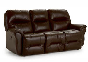 Bodie Leather Reclining Sofa