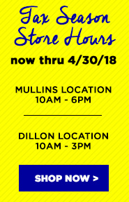 Tax Season Store Hours