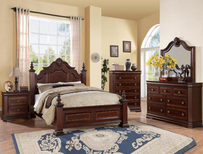 Charlotte Queen Bed,Crown Mark In-Store
