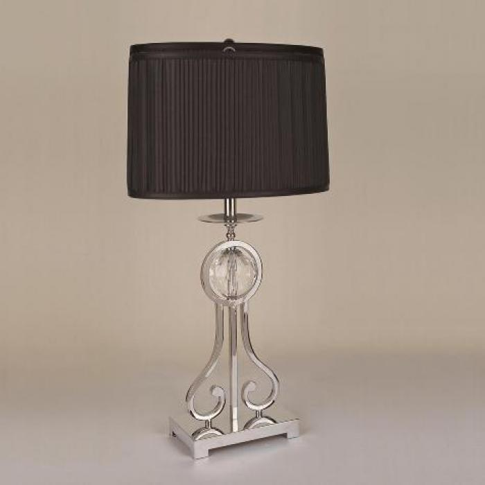 Black and Silver Table Lamp,Crown Mark In-Store