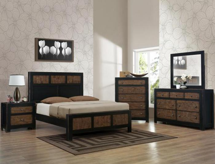 Chatham King Bedroom Set (King Bed, Dresser/Mirror, & Chest),Crown Mark In-Store