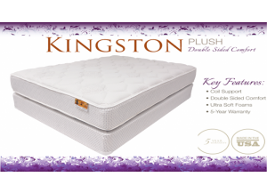 Double Plush Flippable King Mattress & Boxspring Set
