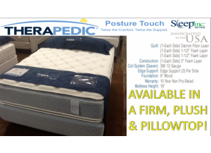Spring Air Double Sided Flippable Pillowtop Queen Mattress & Boxspring Set