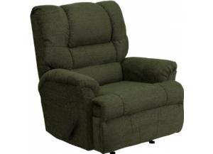 Image for Serta Upholstery 500 Radar Green Big Man Rocker/Recliner